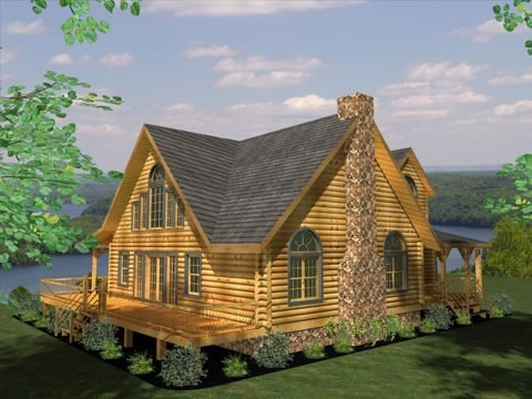 Browse Floor Plans for Our Custom Log Cabin Homes